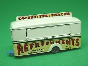 Matchbox-Lesney-No-74a-Mobile-refresco-Cantina-Crema-Raras