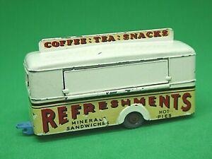 Matchbox-Lesney-No-74a-Mobile-refresco-Cantina-Crema-Raras