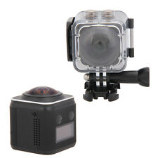 4K 1440P HD Wifi Action Sports Camera Panoramic 360° DV Waterproof Camcorder New