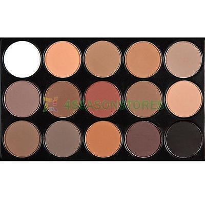 15Color Eye Shadow Makeup Shimmer Matte Eyeshadow Concealer Palette Cosmetic Set
