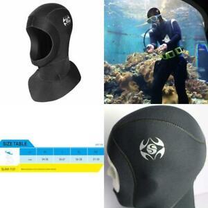 3mm Neoprene Scuba Diving Cap Snorkeling Hood Winter Swim Hat Warm Wetsuit