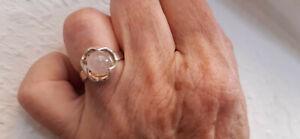ausgefallener Ring mit Rosenquarz - 835 Silber - Bad Vilbel, Deutschland - ausgefallener Ring mit Rosenquarz - 835 Silber - Bad Vilbel, Deutschland