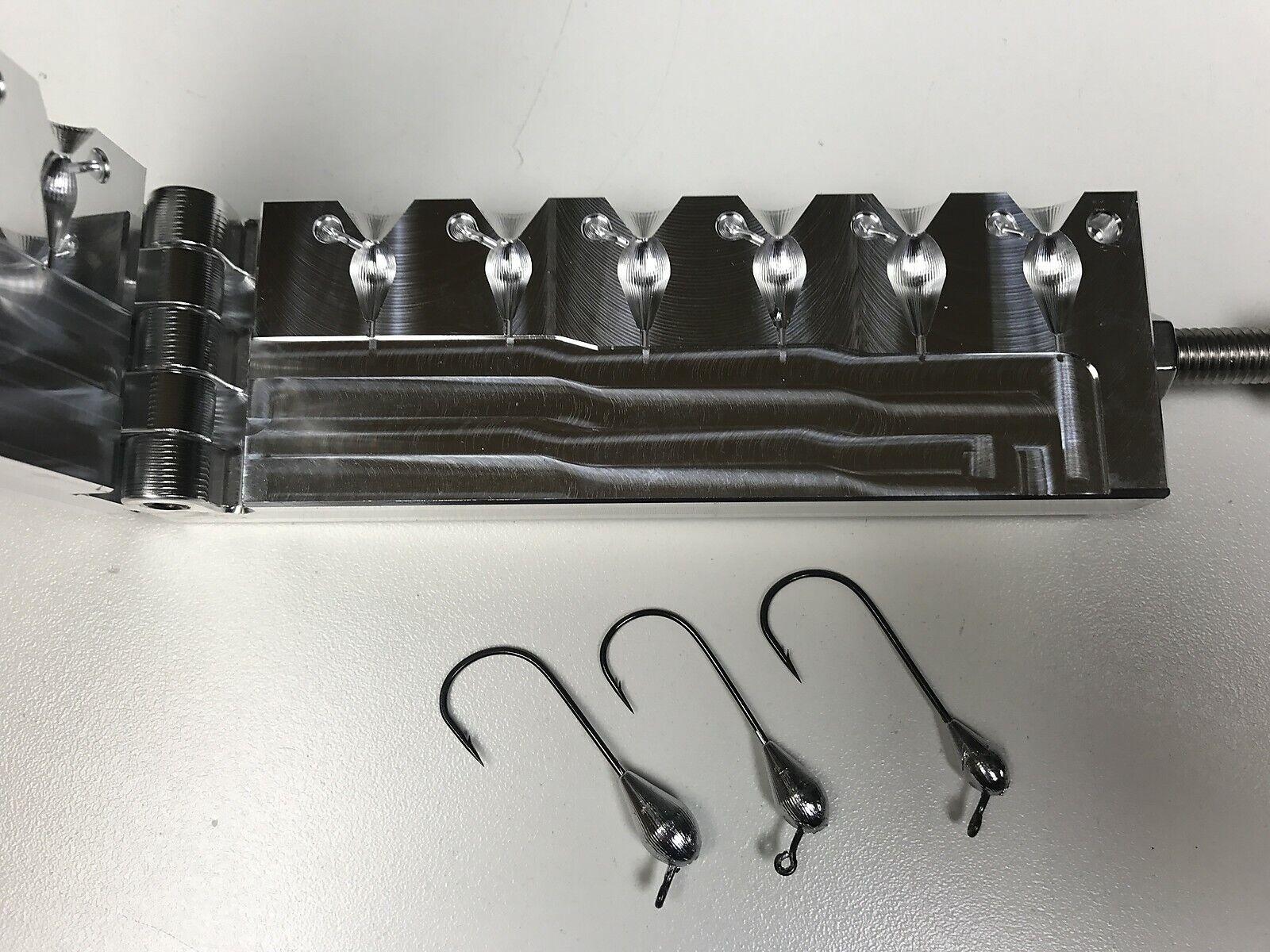 Freshwater Tube Weight 3 mold 18, 316, 14 oz CNC Aluminum