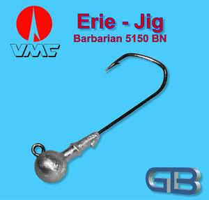 VMC-Barbarian-Jig-5150-BN-4-0-10g-Jigkopf-Jighaken-Eriekopf-Bleikopf