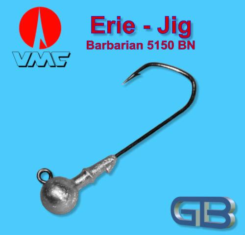 VMC Barbarian Jig 5150 BN 4//0-10g Jigkopf Jighaken Eriekopf Bleikopf.