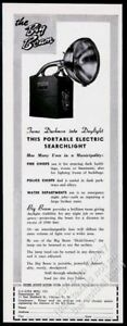 Merchandise & Memorabilia 1944 U-c-lite Portable Electric Searchlight Flash Light Vintage Trade Print Ad Shrink-Proof