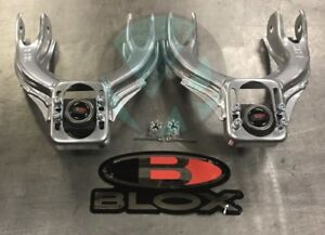 Blox Competition Front /& TruHart Rear Camber Kit Combo 92-95 Civic 94-01 Integra