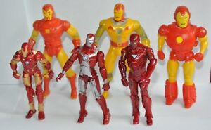 Ironman marvel comic action force figures 1994 Spider Woman