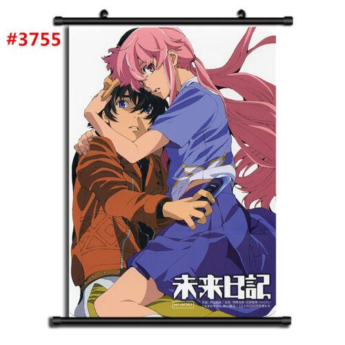 "Anime Future Diary manga Wall Scroll Poster cosplay8/""x11/"" A"
