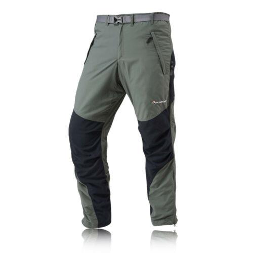 Montane Terra Mens Green Short Leg Outdoors Work Pants Bottoms Trousers