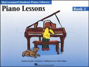 Brillant Student Piano Library Leçons De Piano 1 Partitions Livre Apprendre à Jouer Méthode-afficher Le Titre D'origine