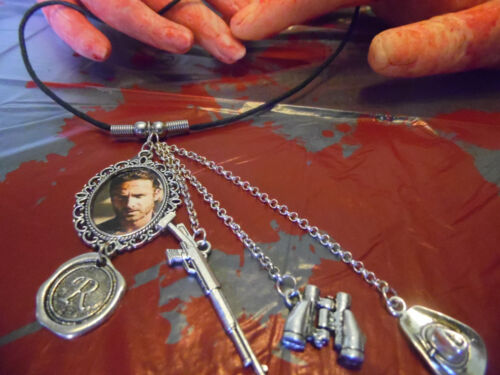 Walking Dead inspired Rick necklace
