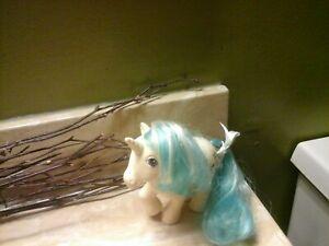 Majesty G1 My Little Pony Vintage 1983 Hasbro Unicorn White Blue Hair Mlp 83 Ebay