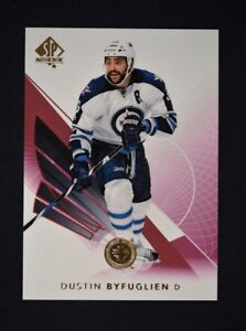 2017-18-17-18-UD-Upper-Deck-SP-Authentic-Limited-Red-69-Dustin-Byfuglien
