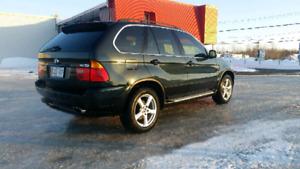 2000 BMW X5 Cuir VUS