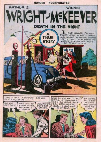 Murder Incorporated #1 Photocopy Comic Book