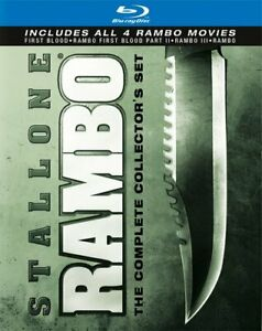 Rambo-The-Complete-Collection-Set-4-Movie-Blu-Ray-NEW-Sealed-Free-Shipping