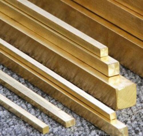 1pcs Brass Metal Flat Bar 10mm x 20mm x 300mm #EE-AM GY