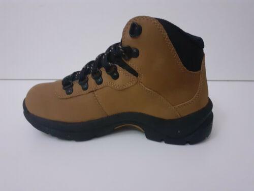 UK 2 ALTITUDE II JX TAN WATERPROOF HIKING BOOTS HI-TEC BOYS UK 13 JR