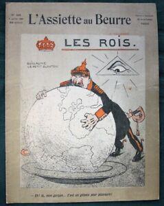 L-039-Assiette-au-Beurre-249-034-Les-Rois-034-1906-French-World-Political-Satire-Art