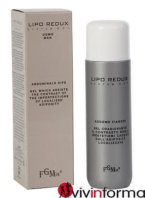 Fgm04 - LIPO REDUX SYSTEM UOMO 200ml gel crema rimodellante dimagrante