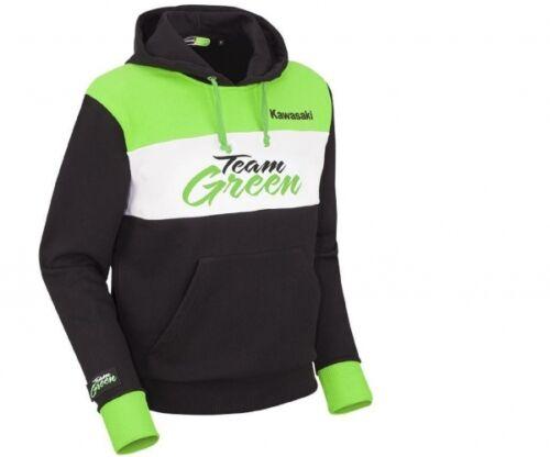 Pullover Con Verde Kawasaki Team Nuovo Hoody Cappuccio qPUxTvtw