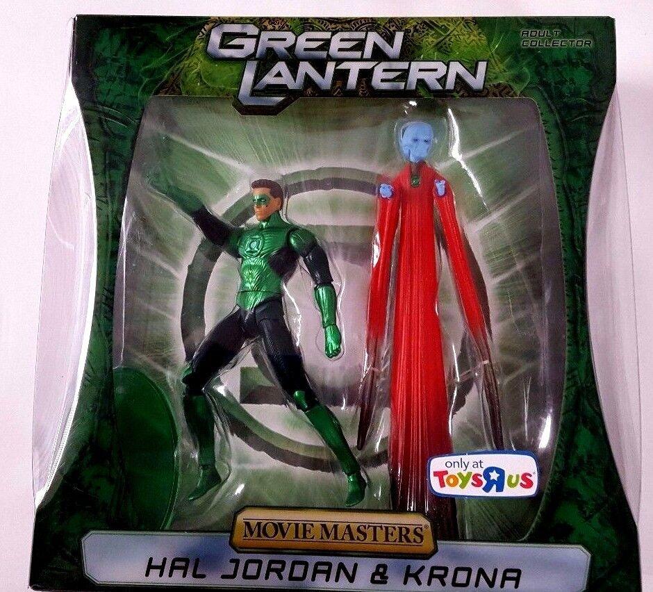 DC Grün Lantern HAL JORDAN & KRONA Movie Masters TRU Exclusive Sealed Complete