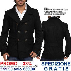 Cappotto-da-Uomo-Invernale-Giacca-Giaccone-Elegante-Casual-Moda-Fashion-Inverno