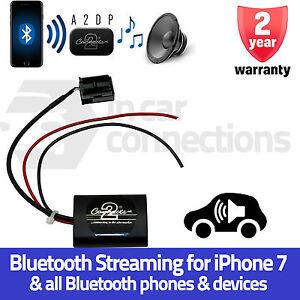 Brillant Ctaop1a2dp Opel Astra H A2dp Bluetooth Streaming Interface Adaptateur Iphone 7 Haute SéCurité