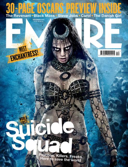 Suicide Squad Empire Poster Jared Leto Deadshot Joker Harley Quinn Enchantress