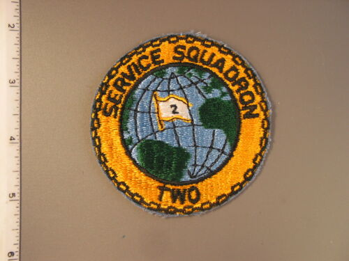 1990's U. S. Navy issue, Fleet Two Service Squadron patch from NS Meyer Library