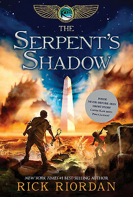 Kane Chronicles, The Book Three The Serpent's Shadow By Rick Riordan NEW