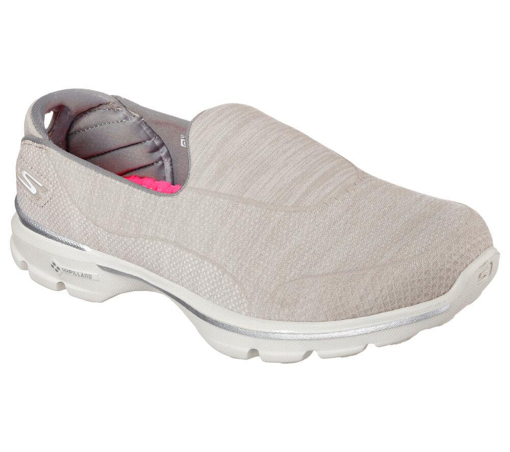 NUOVE Skechers Scarpe da ginnastica Donna Pantofole Go Walk 3-Super 3-Super 3-Super Calzino 3 Grigio Fitness | Prezzo Pazzesco  | Scolaro/Signora Scarpa  d232d6