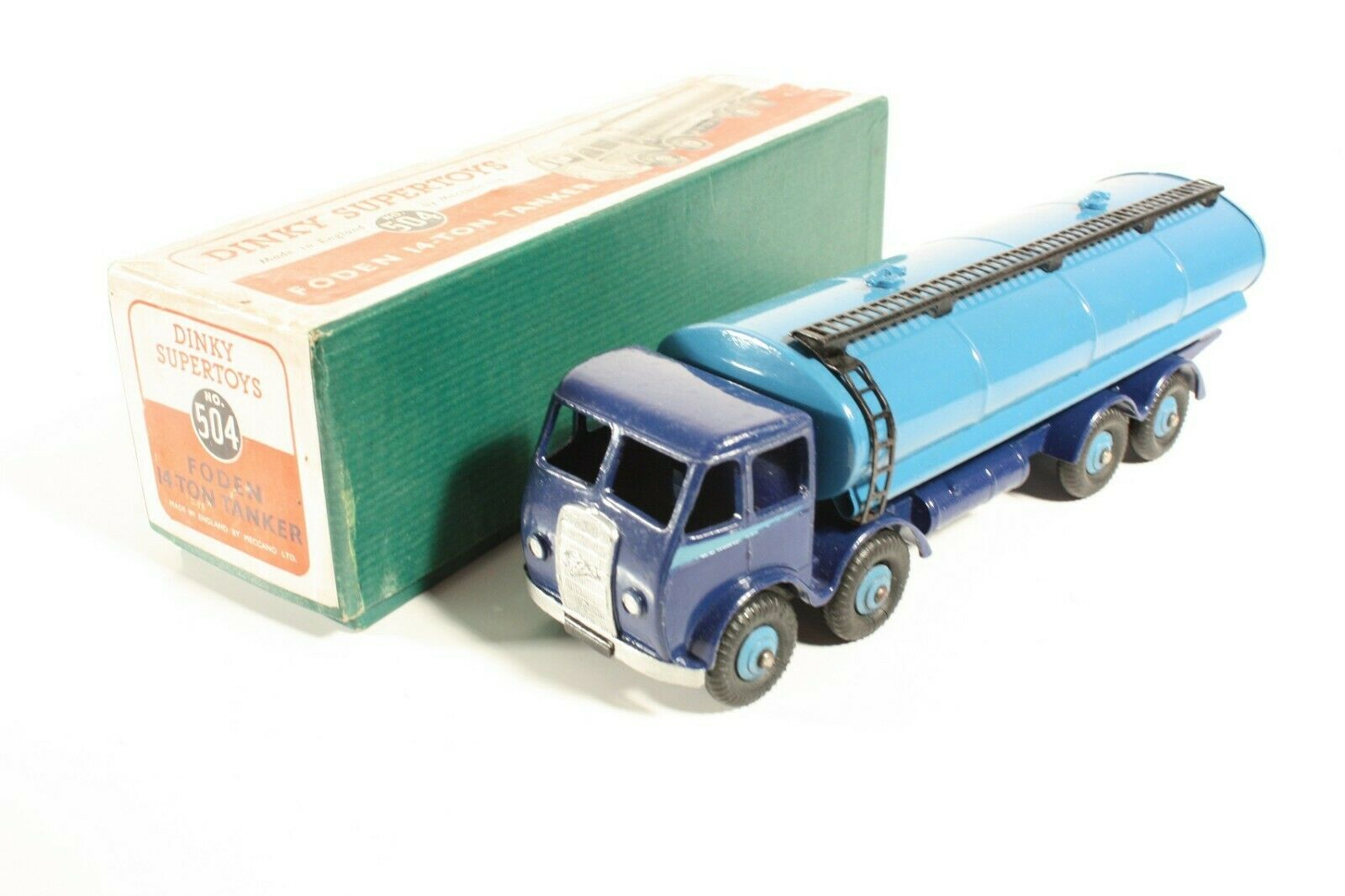 DINKY TOYS 504, Foden 14-ton Tanker, Comme neuf Dans Box  ab2275