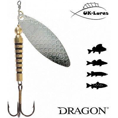Dragon Tiger Spinner 10-07 Predator Tackle Soft Comet Leurres de Pêche Spinner
