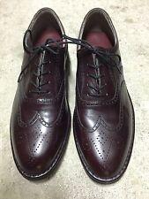 NIB! Men's ROCKPORT Cordovan Wingtip Dress Oxford Shoes Size 8 Medium