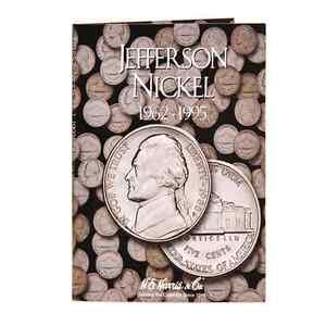 H-E-Harris-Jefferson-Nickel-Coin-Folder-1962-1995-2680