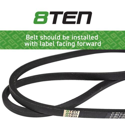 8TEN PTO Belt MTD 754-0486 954-0486 754-0486A 954-0486A 46 Inch Step-Thru Frame