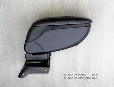 Armrest Centre Console Black Storage Adjustable Armcik Citroen C4 Picasso 2013-