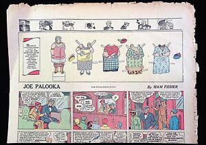 Newspaper Paper Doll - Ma Palooka w 4 Costumes - Joe Palooka 1932