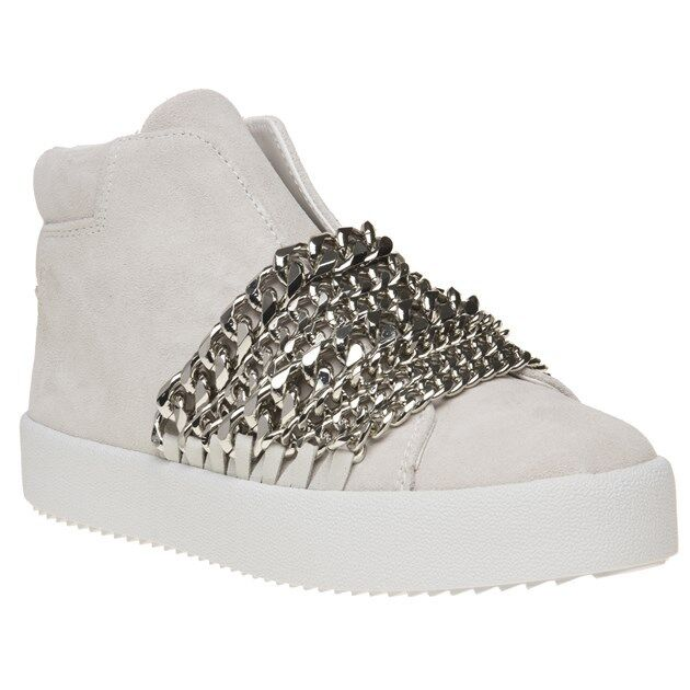 New Ankle Damenschuhe Kendall + Kylie Weiß Duke Suede Trainers Ankle New Stiefel Zip 04c284
