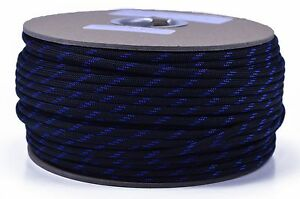 550 Paracord Type III 7 Strand Mil Spec Parachute Cord 1000 Foot Spools