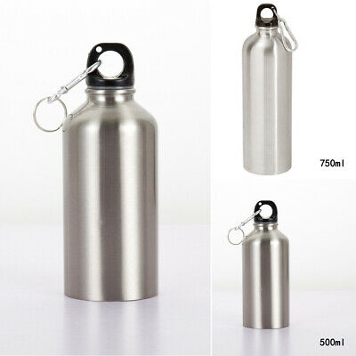 400-700ML Water Drinking Bottle Cup Stainless Steel Vacuum Sport Cycling Bicycle