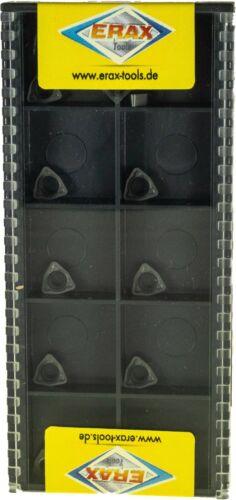 Edelstahl und Guss Bearbeitungen NEU 10x WCMX//WCMT Bohrplatten für Stahl