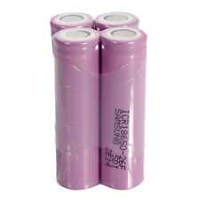 4pcs ICR18650-26F 3.7V 2600mAh Flat Head Li-ion Rechargeable battery for Samsung