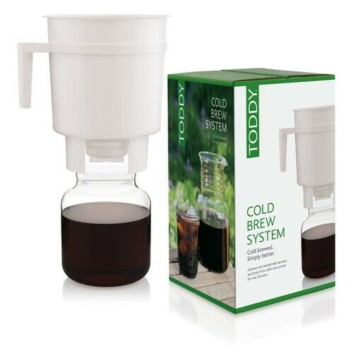 Toddy® Cold Brew System Super Easy Non-electric Coffee Maker Smooth /& Rich