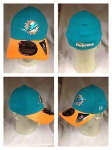 844b1de7a Miami Dolphins 2015 New Era 39Thirty Team Color Player Draft Day Cap ...