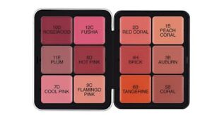 New Make Up For Ever 12 Shades Ultra Hd Invisible Cover Cream Blush Palette Bnib by Make Up For Ever