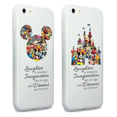 Cartoon Movie Character Themed Fan Art Mobile TPU Cover Case for iPhone Range