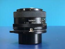 Tamron Adaptall Prime Lens 28mm f2.5 02B - S/N 100331